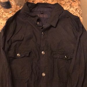 Rogue state button up shirt